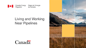 Cover sample of the Living and working near pipelines video